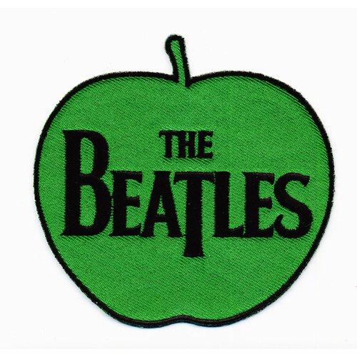 Printed Woven Shirt (Beatles - Aufnäher Apple Logo (in 85mm))