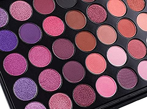 DE'LANCI Ultra 35 Eyeshadows Flawless Palette Schimmert und Matt