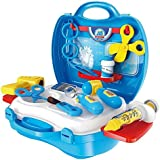 MAGNIFICO™ Doctor Kit Toys For Kids, (Set Of 18 Pcs) Doctor Kit Pretend Play Doctor Play Set Medical Carry Case Nurses Toy Set Fun Toy Gift Early Education For Kids