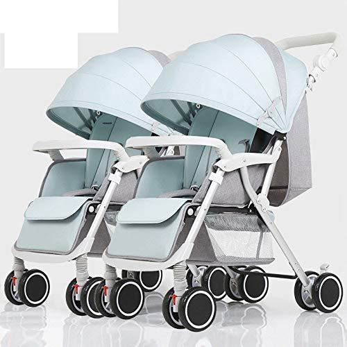 Defect Der abnehmbare, Faltbare, leichte Stoßdämpfer des Twin-Kinderwagens kann Sich auf den Neugeborenen-Babytrolley Legen Lasse