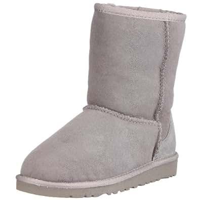 Ugg Australia Kid's Classic Short 5251, Children's Boots - Grey, 30 EU