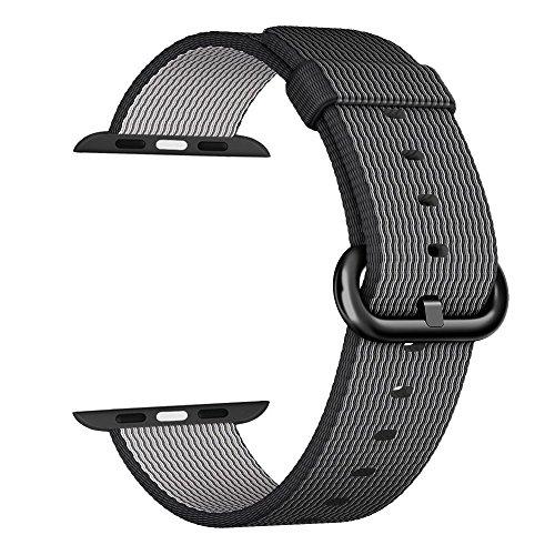 apple-watch-correa-42mm-zro-premium-nylon-tejida-reemplazo-de-reloj-inteligente-banda-de-reloj-con-a