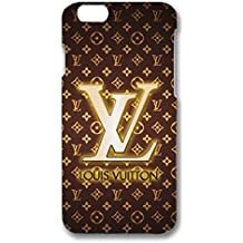 Classic Theme Louis with Vuitton Pattern 3D Hard Plastic Case Cover For Iphone 6 Plus & Iphone 6S Plus Louis with Vuitton Style