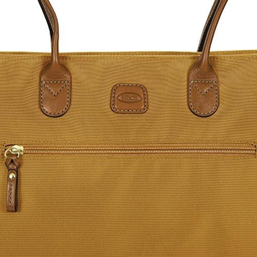 Brics Borsa Donna x-Travel Shopping Senape