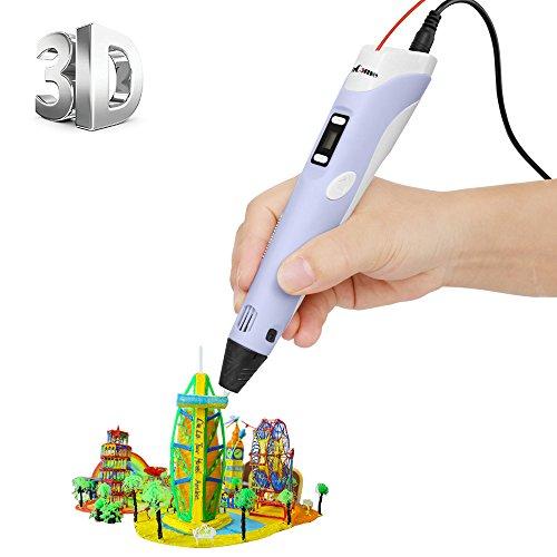[Imprimante 3D Pen avec écran LCD] ohCome 3D Stéréoscopiques Impression Dessin Pen pour 3D Doodling Peinture + Modeling + Arts +...
