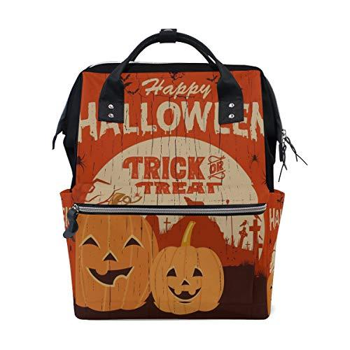 Happy Halloween Fancy Party Große Kapazität Windel Taschen Mummy Rucksack Multi Funktionen Wickeltasche Tasche Handtasche Für Kinder Babypflege Reise Täglichen Frauen
