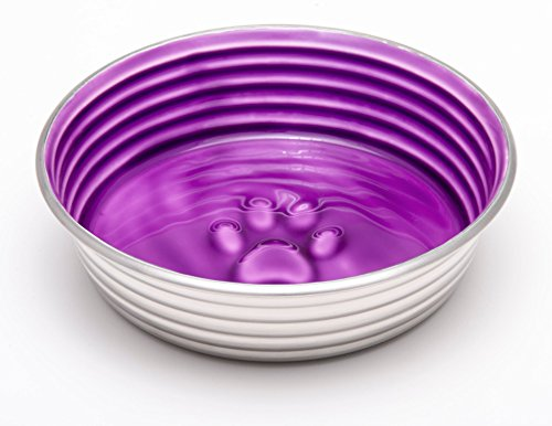 Le Bol Dog Bowl - Stainless Steel Pet Food Bowl With Non Slip Rubber Bottom - Suitable For Dogs And Cats - X Small Size… 5