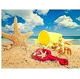 XIGZI Flip Flops 5D DIY Diamant Malerei Voll Platz Landschaft Diamant Mosaik Landschaft Wohnkultur Strand Bild Von Strass 30x40 cm