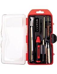 WINCHESTER Kit de Limpieza Completo (17 piezas) para Rifle Calibre .222 Remington/.223 Remington/5.56x45mm con 6 Puntas para Destornillador