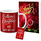 VESPL LOF Mug Keychain Special Christmas and New Year Gifts Greeting Message Card