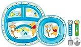 Munchkin 051368 Winnie Boy Dinner Set for Toddlers