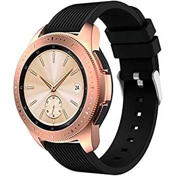 Xihama - Bracelet de rechange en silicone pour montre connectée Samsung Galaxy - deux tailles au