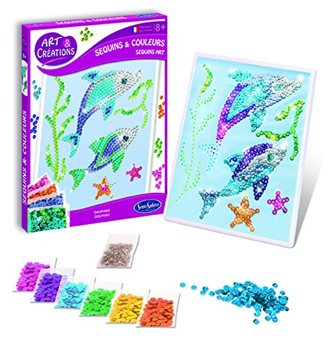 "Sentosphère 3902011 ""Mosaic Picture Dolphin"" Craft Set"