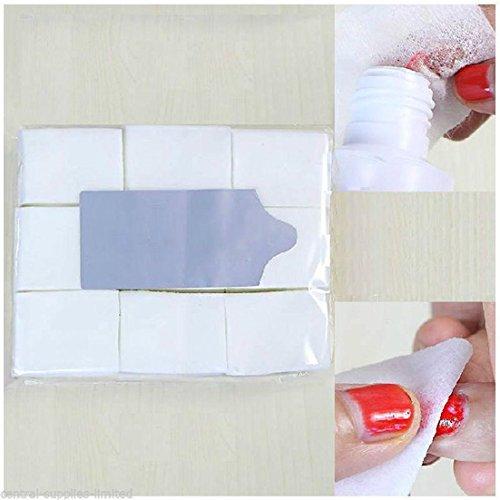 lnlyin-900pcs-nail-art-manicure-polish-remover-lint-free-cleaner-wipe-cotton-pad-paper
