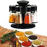 Ophion Gewürzkarussell 8Gläser gefüllt Kräuter und Spice Karussell