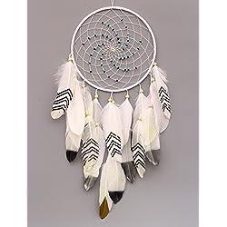 vgia hecho a mano de atrapador de sueños con plumas colgante de pared decoración Craft-regalo