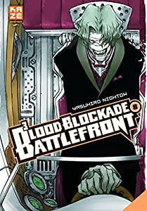 Blood Blockade Battlefront Edition simple Tome 8