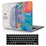 May Chen Crystal Print Plastic Hard Case with Keyboard Cover for MacBook 12