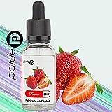 E-Liquide Paide Premium 30ML - Sans nicotine - Bouteille en verre avec pipette - Liquide pour cigarette électronique - 50VG 50PG (fraise)