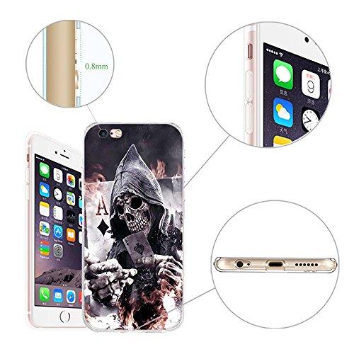 Coque Apple iPhone 5 5S 5SE, Fubaoda [comme le rêve] artistique Série Peinture Étui TPU silicone élégant et sobre pour Apple iPhone 5 5S 5SE pic: 15