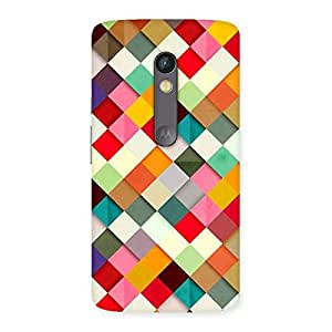 Gorgeous Color Ribbons Back Case Cover for Moto X Play
