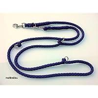 Perros cuerda doble cuerda Jumbo Color Azul Oscuro 2,80m 4posiciones para perros hasta 70kg