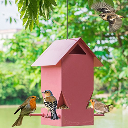 Wild Vogelfütterer Draussen Vogel Haus Villa Garten Balkon Vogelfütterer und Großartig Zum Anziehen Vögel Draußen. Cacoffay