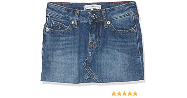 Tommy Hilfiger Selena Denim Skirt Fiamc Gonna Bimba