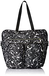 Accessorize Womens Tote Bag (Black/White)