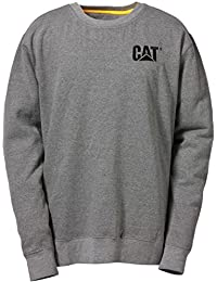 Caterpillar C1910752 Trademark New Crew Neck Sweat Shirts Work Hoodie