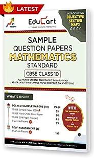 Educart CBSE Class 10 Maths 'Standard' Sample Question Papers 2021 (As Per 9th Oct CBSE Sampl