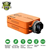 RunCam 2 FPV Sport Camera 1080P 60fps HD Mini Action Dash Cam WIFI intégré (Orange) de HankerMall