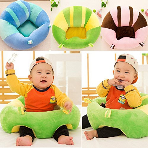 Baby Support Seat Soft Dining Chair Cushion Sofa Plush Pillow Toy Home Gift Pillow Cushion Baby Nest Puff Plush Toys