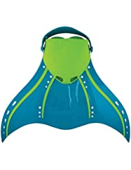 FINIS Erwachsene Aquarius Tropical Mermaid Swim Fin, Teal, 36-43