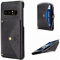 Galaxy Note 8 Cuero Cover,MingKun Billetera y Tarjeta Ranura Cobertura Funda para Samsung Galaxy Note 8 PU Carcasa