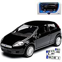 Fiat Punto dunkelblau Carabinieri Polizei 1995 1:43  Modellauto
