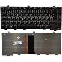 Tastatur, deutsch (DE) - Backlight - für Alienware M15x (Dell)