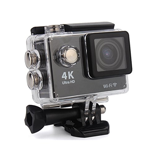 Maxx Ak16292 16MP Ultra HD Waterproof Action Camera (Black)