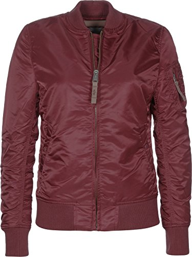 Alpha Industries Damen Bomberjacke rot XS
