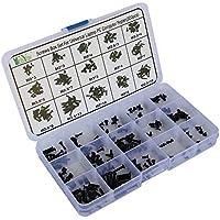 kkmoon 300 unidades Tornillo Set de tornillos Caja para Universal Laptop pc Computer Reparación Kit