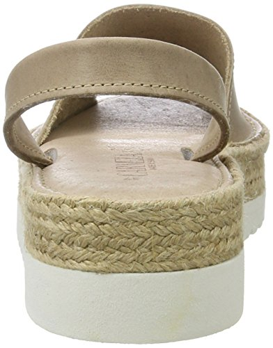 XTI Damen Taupe Nappa Ladies Shoes Plateausandalen Braun (Taupe)