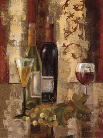 graffiti e vino III by Vassileva disponibile, Silvia-Stampa artistica su tela e carta, Tela, SMALL (18 x 24 Inches )