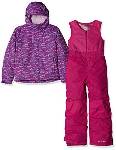 Columbia Toddlers' Snow Set, Buga, Pink Clover Trees, XXS
