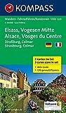 Elsass - Vogesen Mitte - Alsace - Vosges du Centre: Wanderkarten-Set mit Aktiv Guide. GPS-genau. 1:50000 (KOMPASS-Wanderkarten, Band 2221)