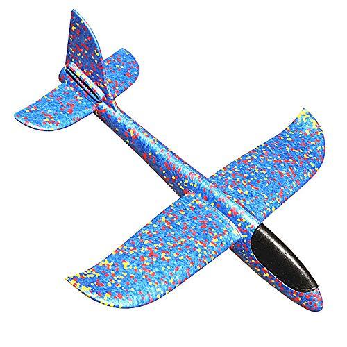 Pädagogisches Spielzeug Tarnung Bubble Cyclotron Aeromodelling Segelflugzeug Hand hinter dem Flugzeug Spielzeug für Kinder Geburtstagsgeschenk für Jungen Mädchen (Farbe : A)