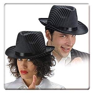 Carnival Toys - Sombrero para Disfraz de Adulto Gánster (5624)
