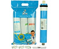 PSI UNIVERSAL RO service kit with QuickFit Push Fit type Filters, Compatible with ALL Storage type RO/UV/UF water purifiers