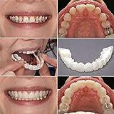 Rowentauk Zahn kosmetischer künstlicher Gebiss Zahn Komfort Sitz Kosmetik für Mann und Frau