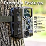 vbva- Jagdkamera IP65, wasserdicht, Kamera, Video/Video/Zeitraffer, 20 m Nachtsicht, Betriebstemperatur: 20~70 °C (HC-800A)