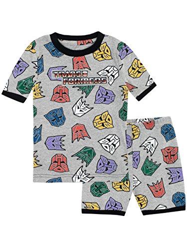 Autobots und Decepticons Schlafanzug Slim Fit Mehrfarbig 110 (Transformers Bumblebee Schlafanzug)